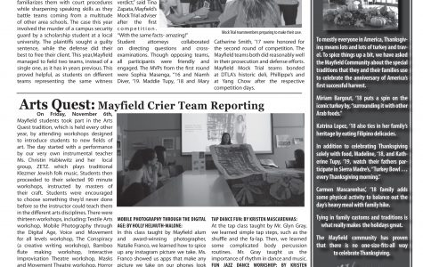 Mayfield Crier November 2015 Issue