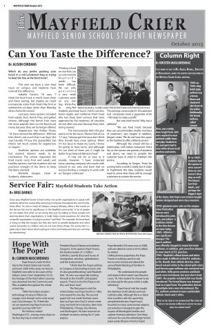 Mayfield Crier October 2015 Issue