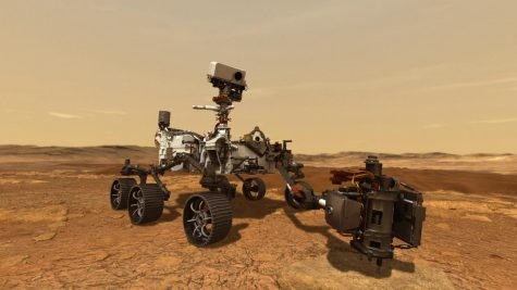The Mars Rover, Perseverance.