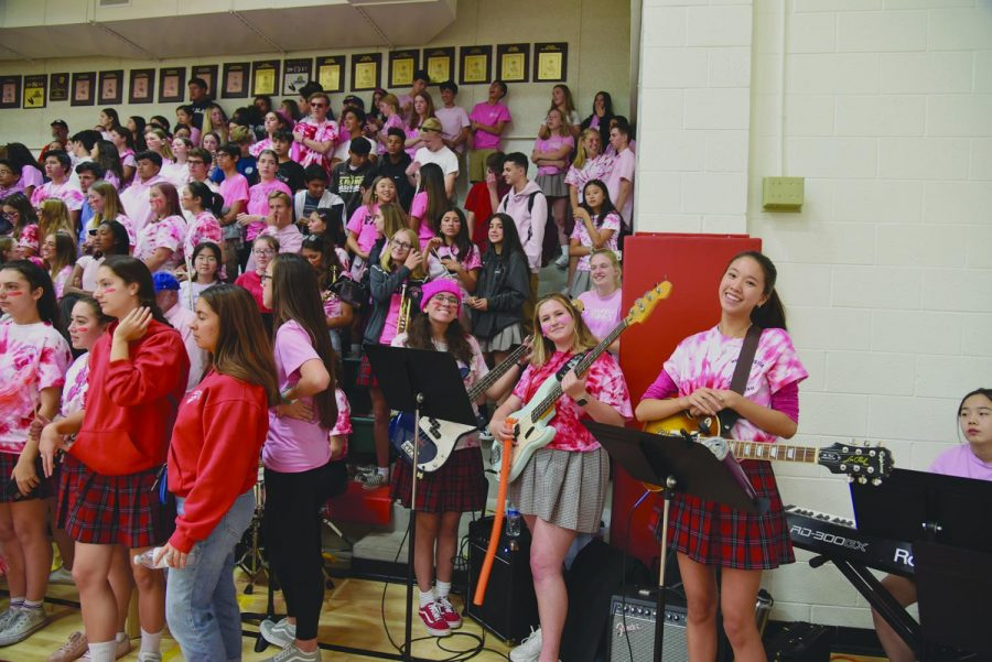 Pep Rally Pumps Up the Spirit