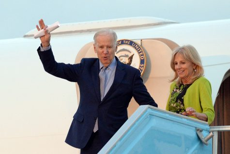 Vice President Joe Biden visit to Israel March 2016 Arrival at BGAP. Courtesy of U.S. Embassy Jerusalem.