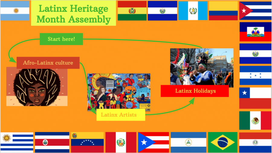 Diversity Council's Latinx Heritage Month virtual assembly.