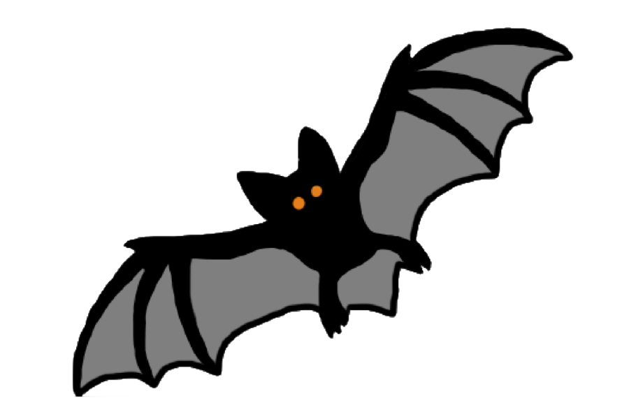 Drawing of a bat by Esme Chiara '21
