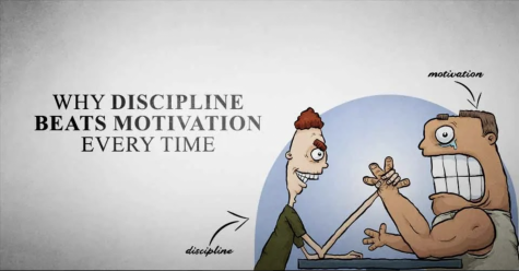 Motivation and Discipline graphic.