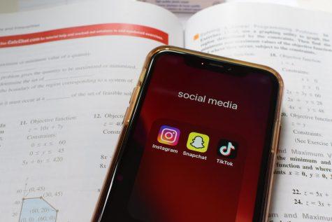 Social media and homework.