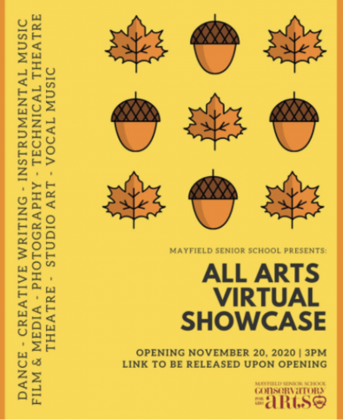2020 All Arts Virtual Showcase