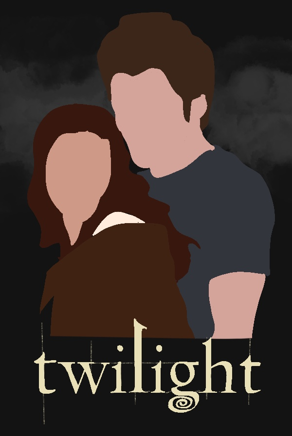 Graphic of Bella Swan & Edward Cullen