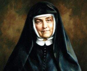 Cornelia Connelly, founder of the Society of the Holy Child Jesus, is pictured in an undated painting by Ellen Cooper.