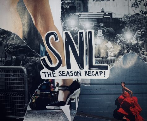 The 46th season of Saturday Night Live ended May 22, 2021. Above is a mixed material collage made by Madison Rojas '23