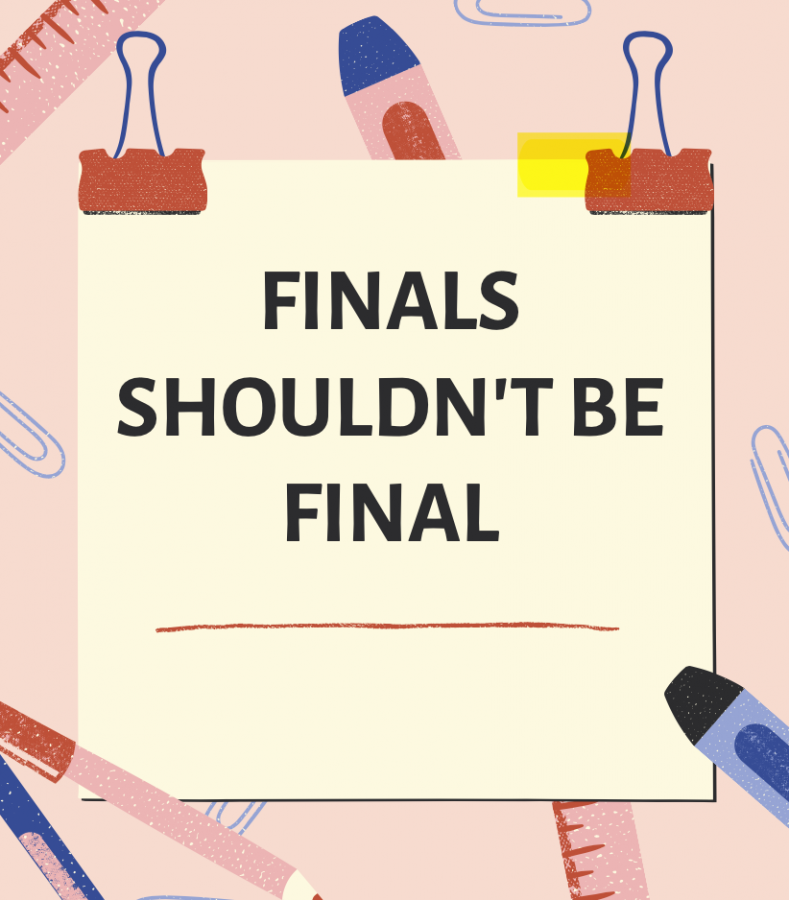 Finals Shouldnt Be Final graphic made by Mia Maalouf 22 on Canva.